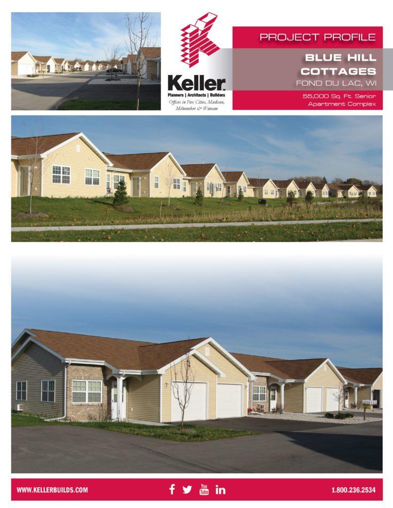 Blue Hill Cottages Keller Builds